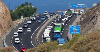 Тенерифе: трудный день для автомобилистов на острове