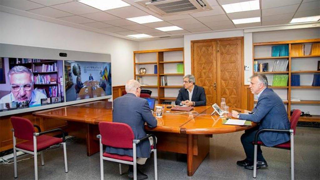 """Экспертный комитет Канар видит условия для смягчения """"confinamiento"""""""