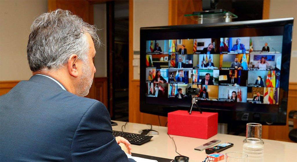 Президент Канарских островов просит смягчить условия confinamiento