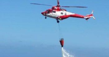 Тенерифе: пожар на севере острова, в горах Icod de los Vinos