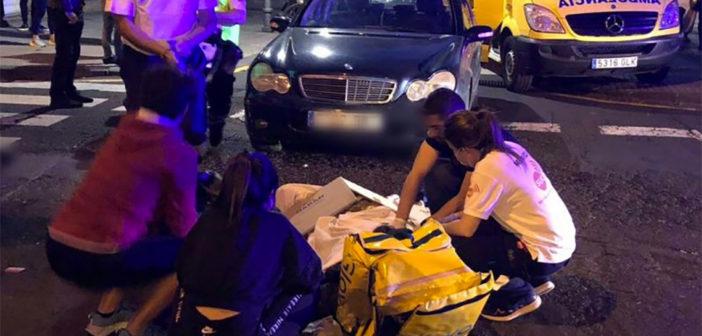 Мотоциклист получил серьезные травмы на Тенерифе