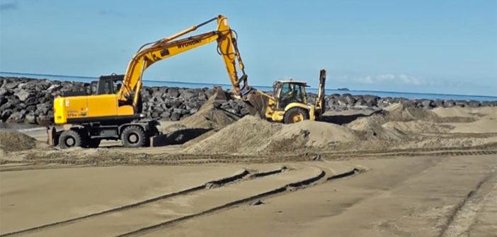 Арона готовит свои пляжи в ожидании их открытия в Фазе III
