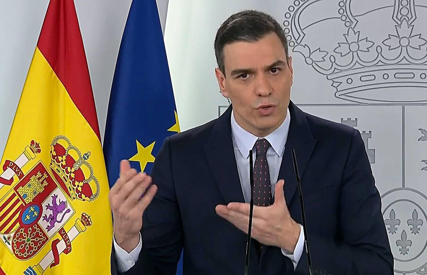 """Sánchez выступает за сохранение """"estado de alarma"""" до конца июня"""