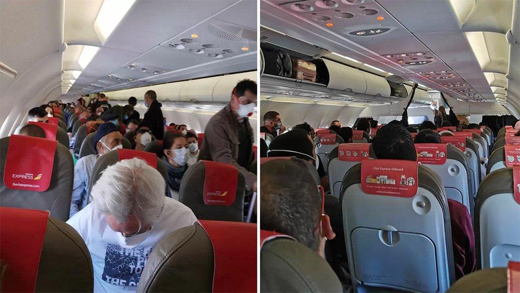 Guardia Civil обвиняет компанию Iberia за условия в рейсе на Канары