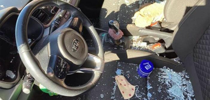 San Isidro: воры разбивают стёкла и забирают всё, что внутри