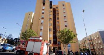 Ночной пожар в столице Тенерифе - почти два десятка пострадавших