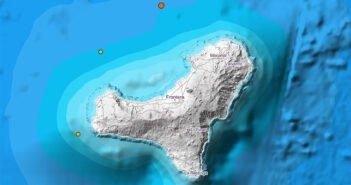 IGN зафиксировал два землетрясения недалеко от Эль Йерро