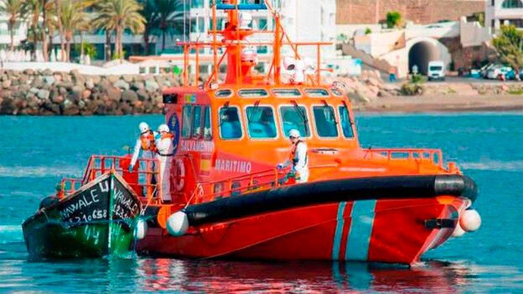 Еще две лодки с мигрантами прибыли в воскресенье на остров Гран-Канария