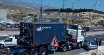 Тенерифе: крупная авария на южном шоссе острова