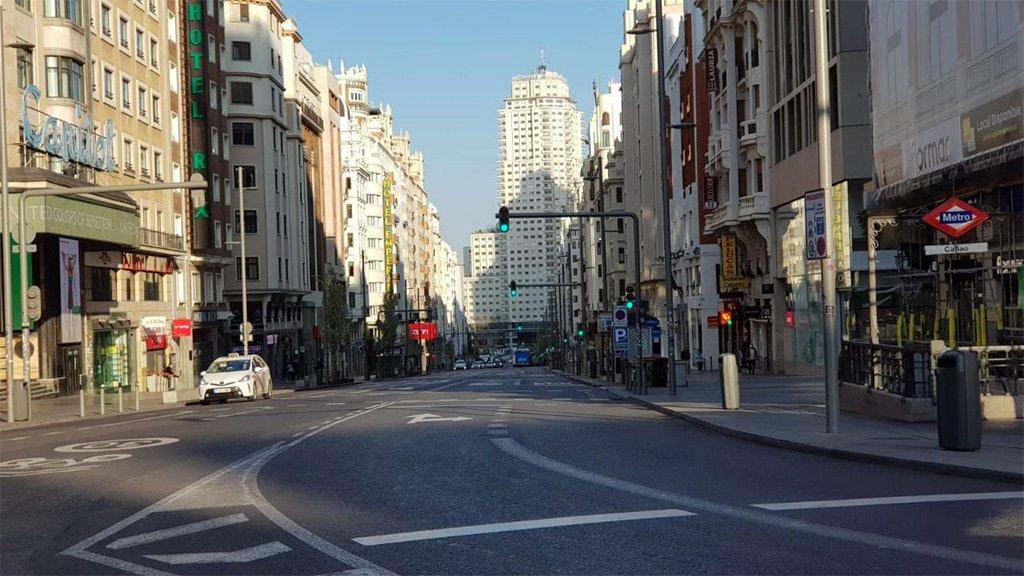 """Мадрид: """"Перед нами самое авторитарное правительство в истории демократии"""""""