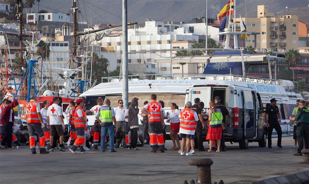 Cruz Roja, CEAR y ACCEM получат 165 миллионов для обслуживания мигрантов