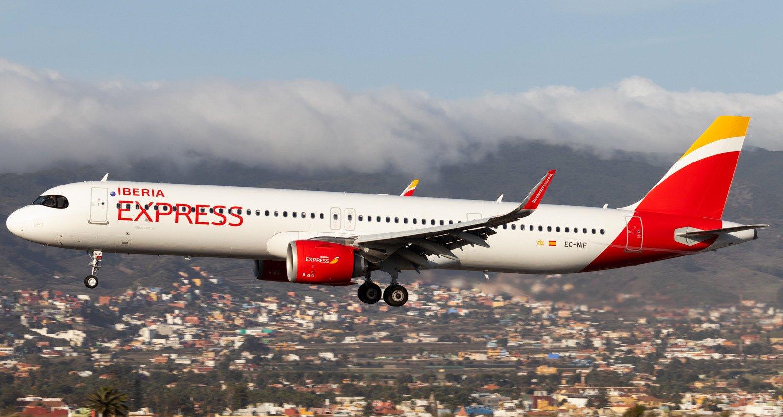 Аварийный самолёт экстренно приземлился в Tenerife Norte