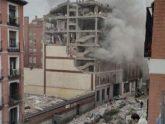 Взрыв в Мадриде: по меньшей мере трое погибших и один пропавший без вести