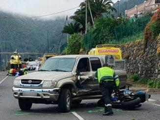 Тенерифе: три аварии на острове с участием мотоциклистов за два дня
